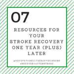 Recovery After Stroke One Year (Plus)
