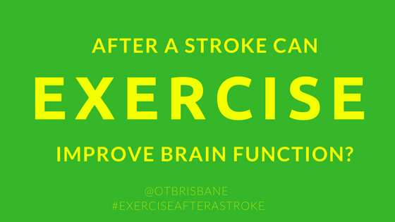 Exercise After A Stroke