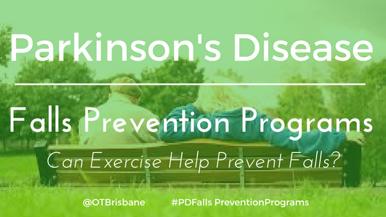 Parkinson's Disease Falls Prevention Programs