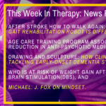 This Week In Therapy: How to walk again after stroke:  Why this gait rehabilitation robot is different