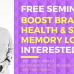 Free Memory Health Seminar