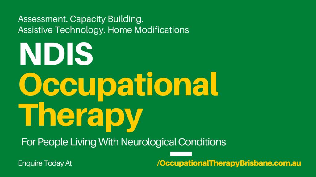 NDIS Occupational Therapist Brisbane (NDIS OT)
