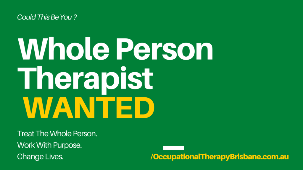 Occupational Therapist Job_Brisbane