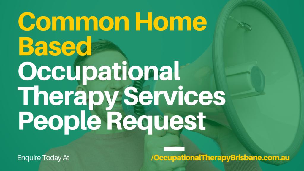 Occupational Therapy Home Assessment Examples